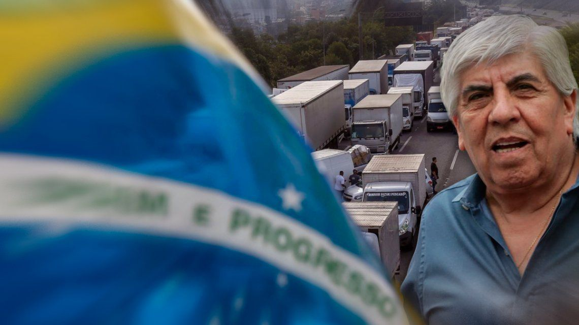 Moyano quiere hacer un paro a la brasilera