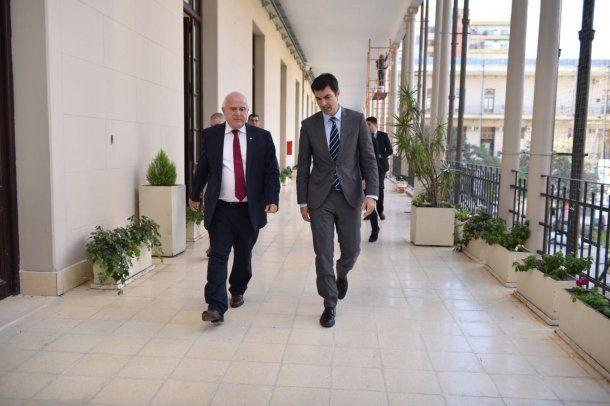 El gobernador de Salta y el de Santa Fe intercambiaron ideas sobre la lucha contra el narcotráfico