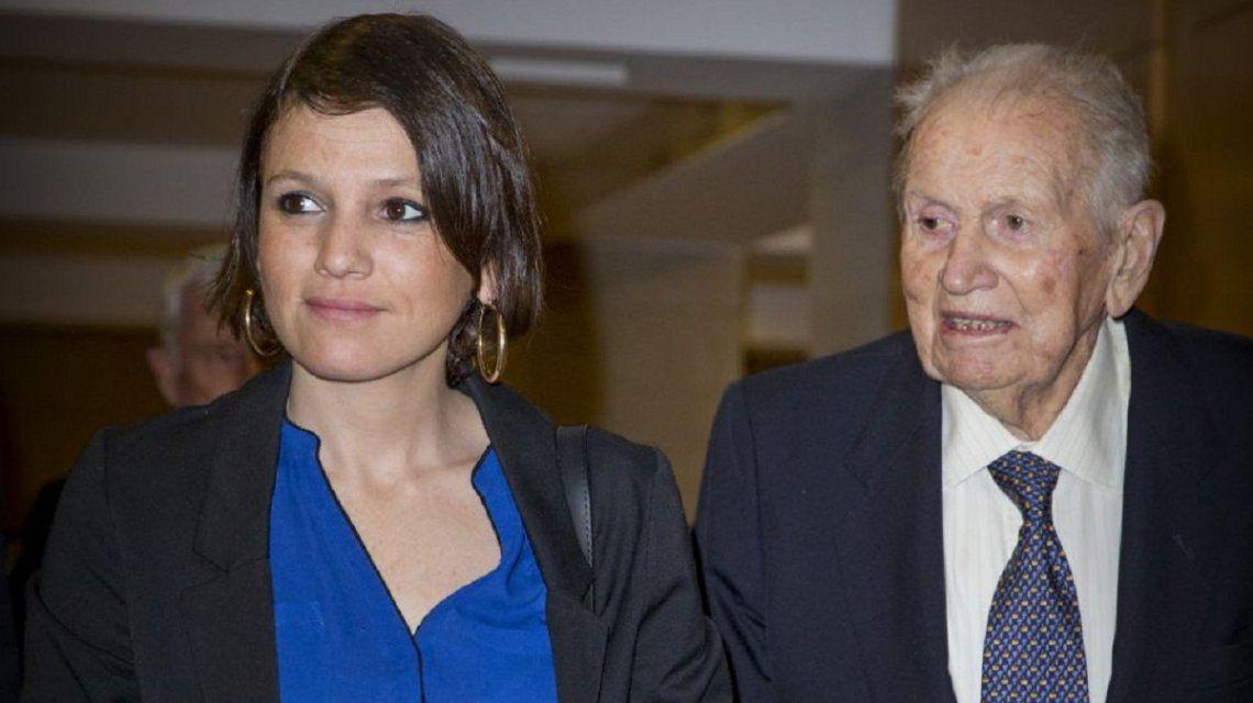 Inés Zorreguieta y su padre Jorge Zorreguieta