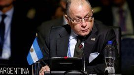 Jorge Fauire, Canciller argentino