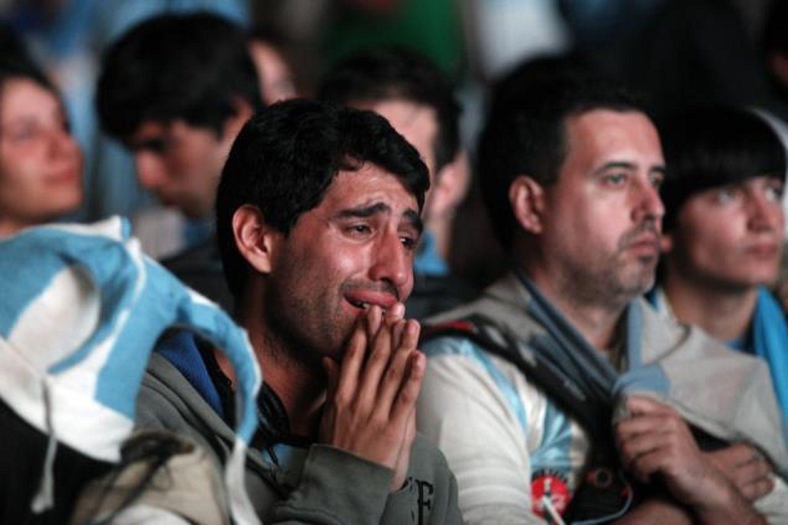 Estrés emocional: el Mundial puede poner en riesgo el corazón