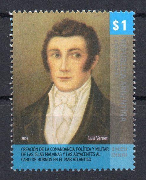Luis Vernet, primer comandante político militar de las Malvinas