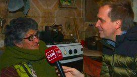 Tiene 88 años y no come para pagar la luz: la dramática historia de Doña Lala