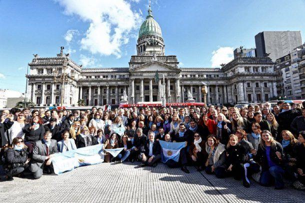 Foto de Cambiemos contra la legalización del aborto