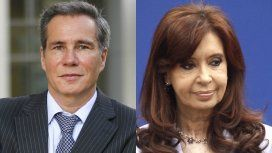 Alberto Nisman y Cristina Kirchner