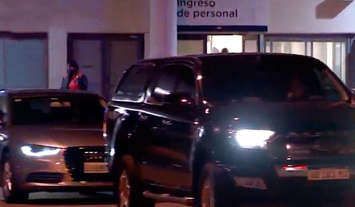 Máxima llegó con su familia a la Argentina