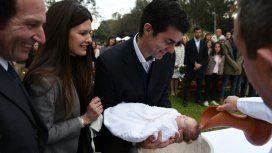 La intimidad del bautismo de Belita, la hija de Isabel Macedo y Juan Manuel Urtubey