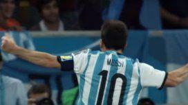 Messi en el video de la canción del Mundial