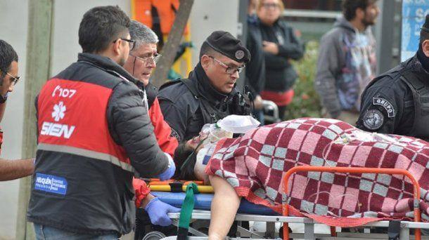 Una beba lucha por su vida tras un choque - Crédito: lmneuquen.com
