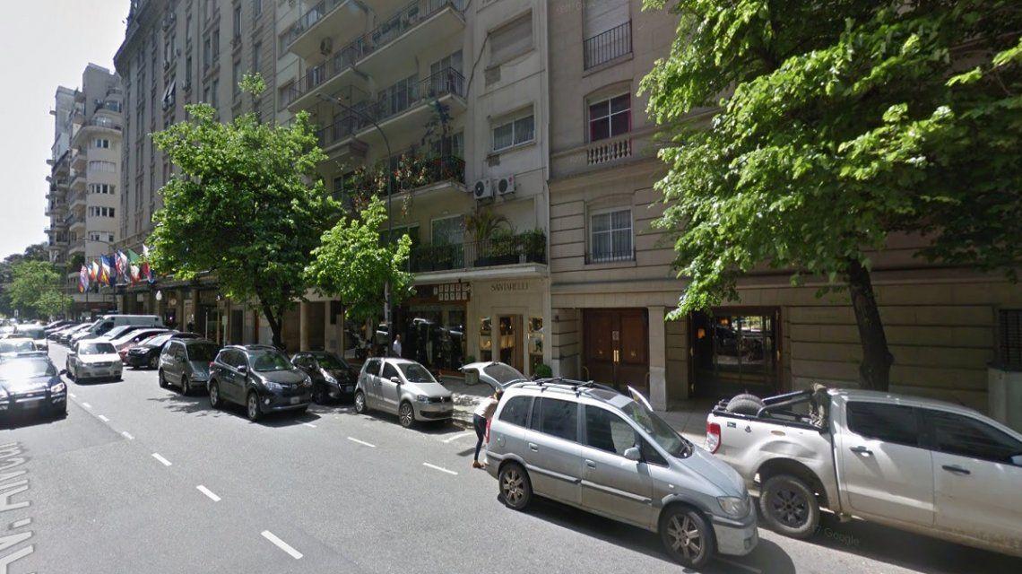 Ocurrió en una vivienda en Callao y Alvear en pleno Recoleta
