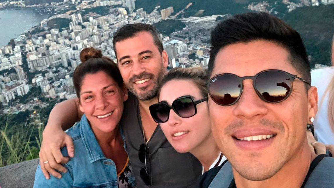 Vacaciones con amigos en Río de Janeiro: la preparación de Enzo Pérez para el Mundial