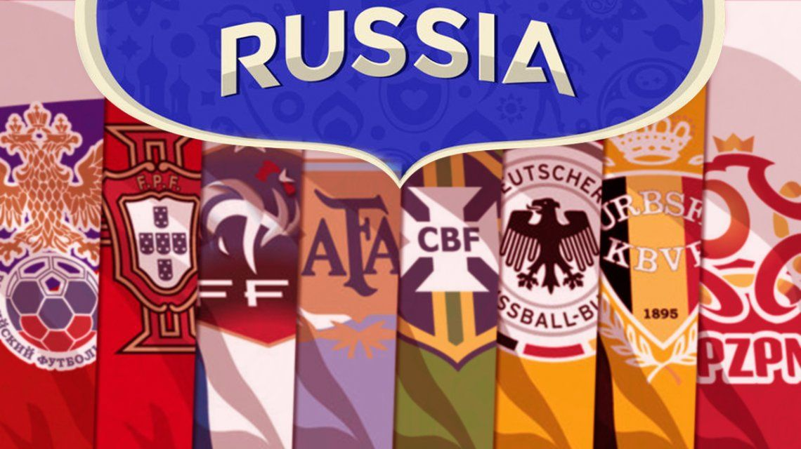 Todos los jugadores que buscarán el sueño mundialista en Rusia 2018