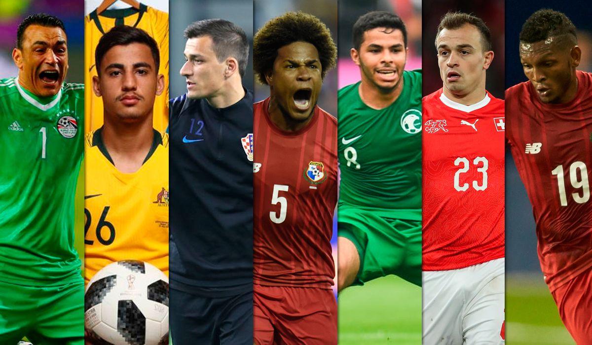 El más alto, el más gordo, el más bajo...¿quiénes son los jugadores más llamativos de Rusia 2018?