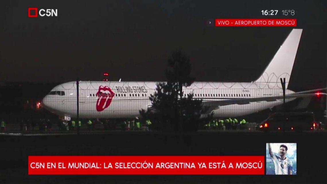 Comienza el sueño mundialista: Argentina ya está en Rusia