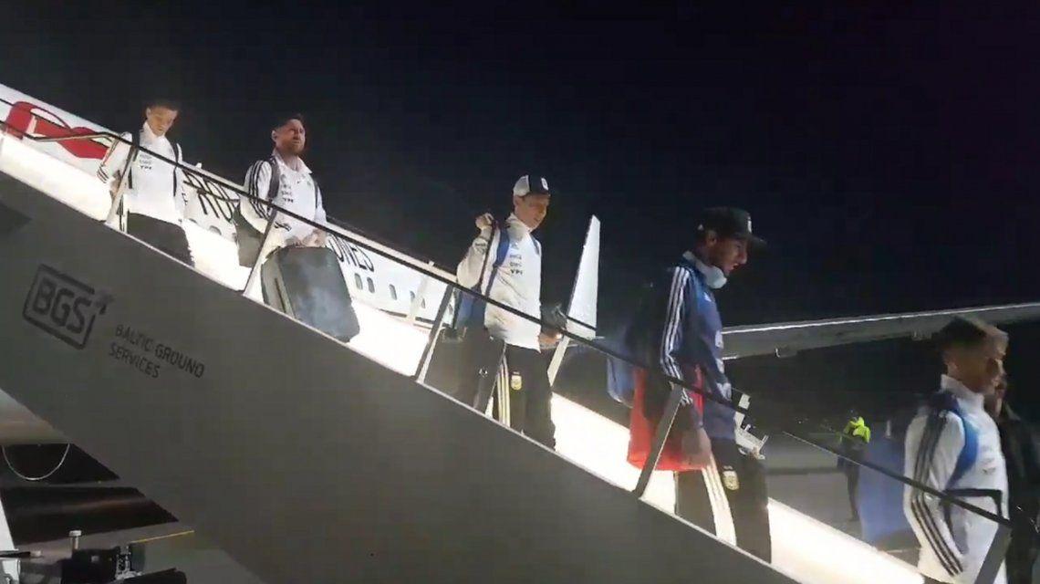La Selección argentina ya está en Rusia