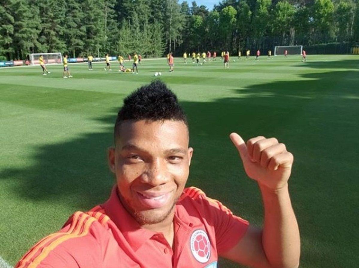 Frank Fabra con la selección de Colombia - Crédito:fabra18