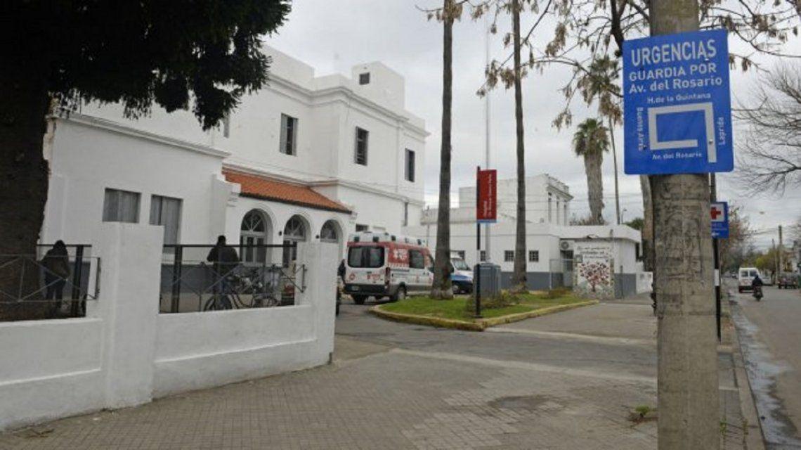 Hospital Roque Sáenz Peña - Crédito: lacapital.com.ar