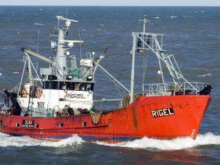 un buque de investigacion cientifica se sumo a la busqueda del pesquero rigel
