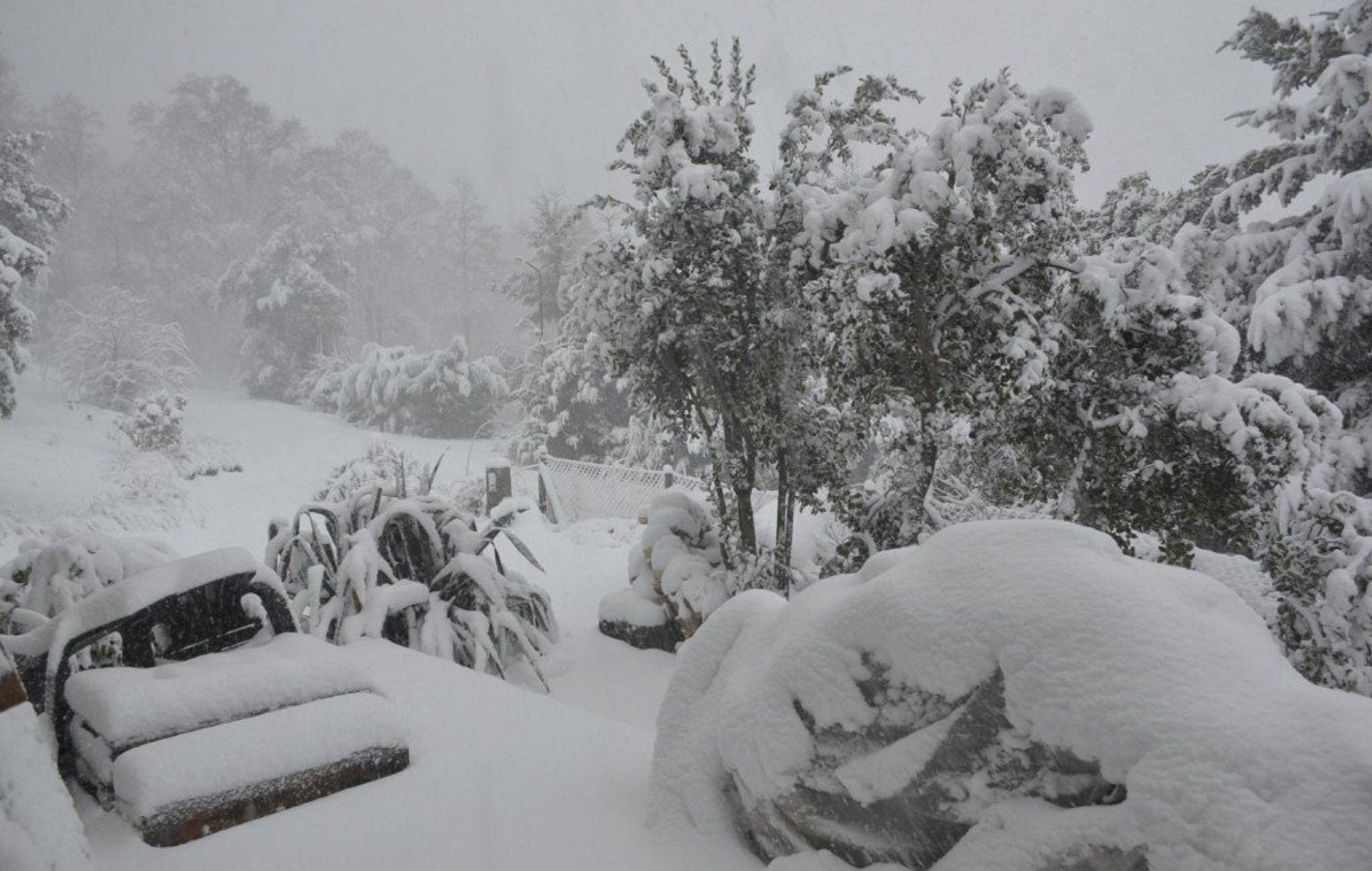 Temporal de nieve en el sur: cerraron rutas y rige un alerta en tres provincias