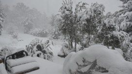 El sur, azotado por la nieve: cerraron rutas y rige un alerta en tres provincias
