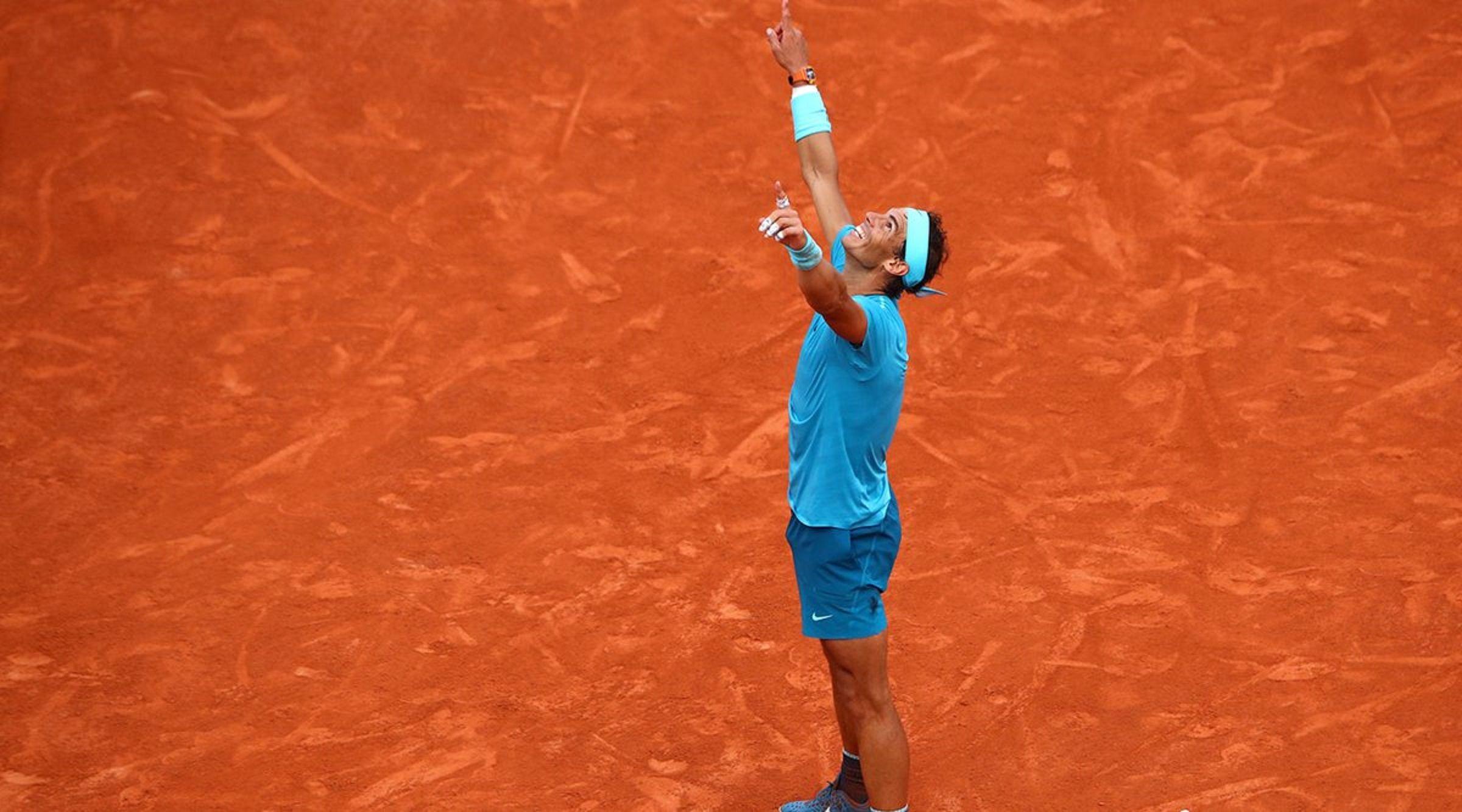 Rafael Nadal superó a Dominc Thiem y conquistó su 11° Roland Garros