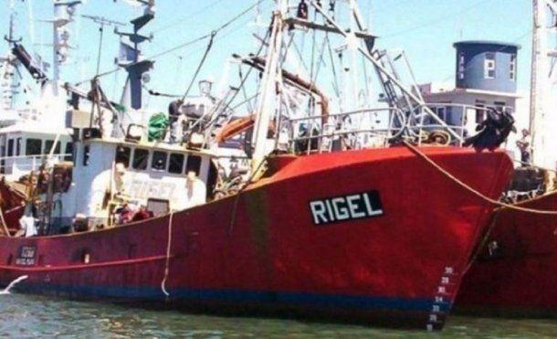 Buque pesquero Rigel - Crédito: 0223.com.ar