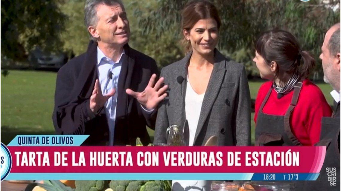 Macri estuvo en Cocineros Argentinos y reveló qué hará cuando se retire de la política