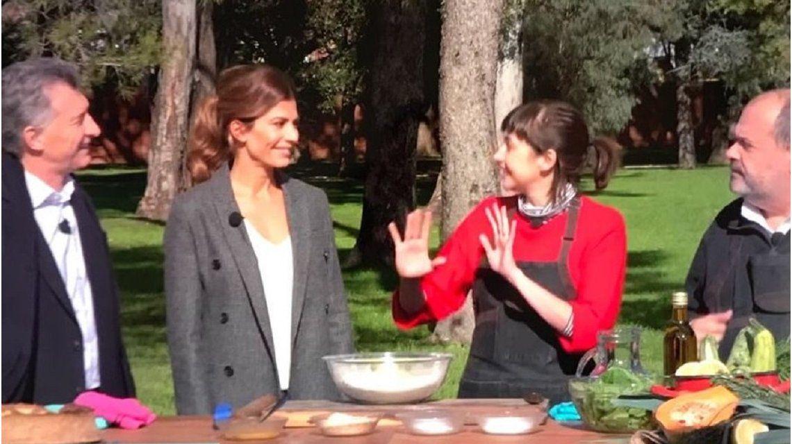 Macri y Awada en Cocineros argentinos