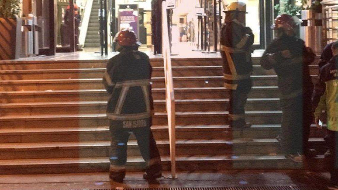 Bomberos actuaron en la inspección del lugar