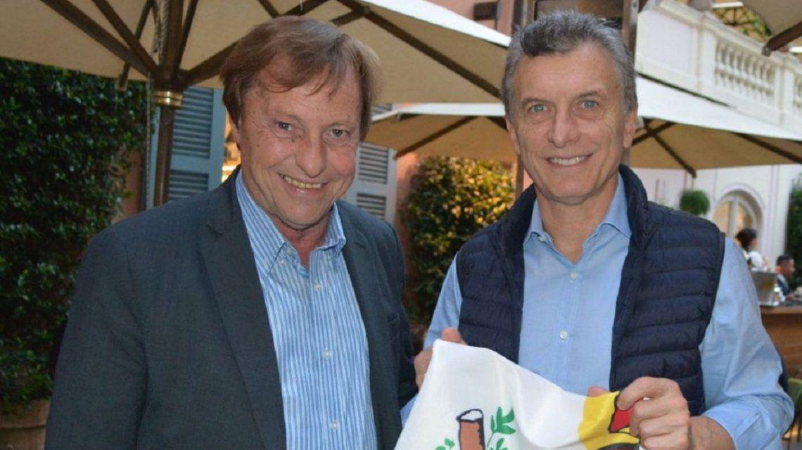 Sergio Varisco y Mauricio Macri