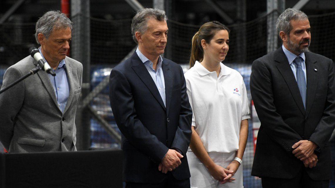 Macri visitó la planta industrial Lucchetti