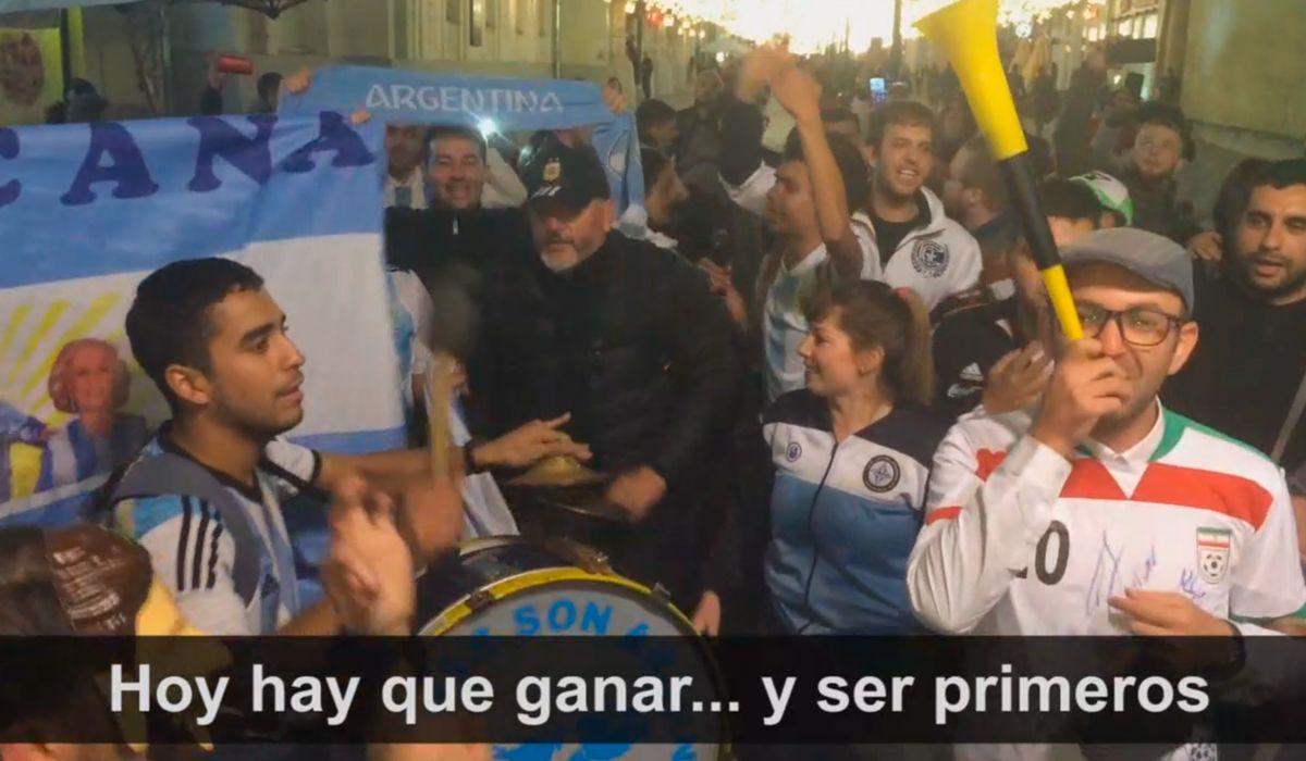 La que tiene a Messi y Maradona: los nuevos hits de los argentinos que coparon Rusia