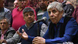 Moyano reclamó la unidad de los peronistas: El problema es Macri, no Cristina
