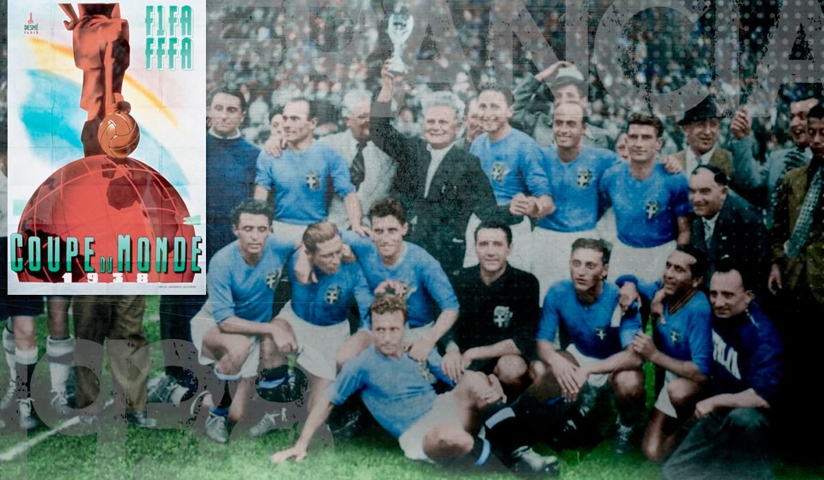 Mundial 1938: el primer bicampeón de la historia