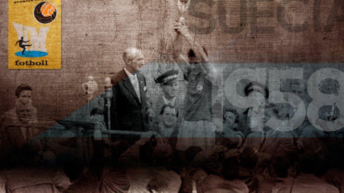 Mundial 1958: Comienza el reinado de Pelé y Brasil