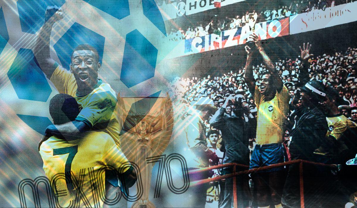 Mundial 1970: Brasil se lució en tierras mexicanas