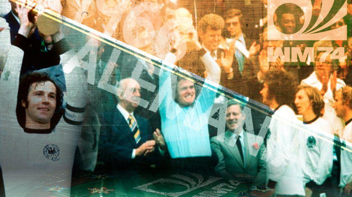 Mundial 1974: Alemania vuelve a consagrarse con nuevo trofeo