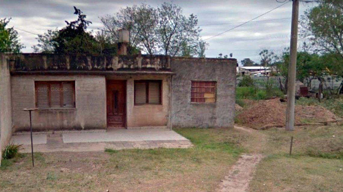 Esta es la casa donde estuvo secuestrada la mujer durante 20 años