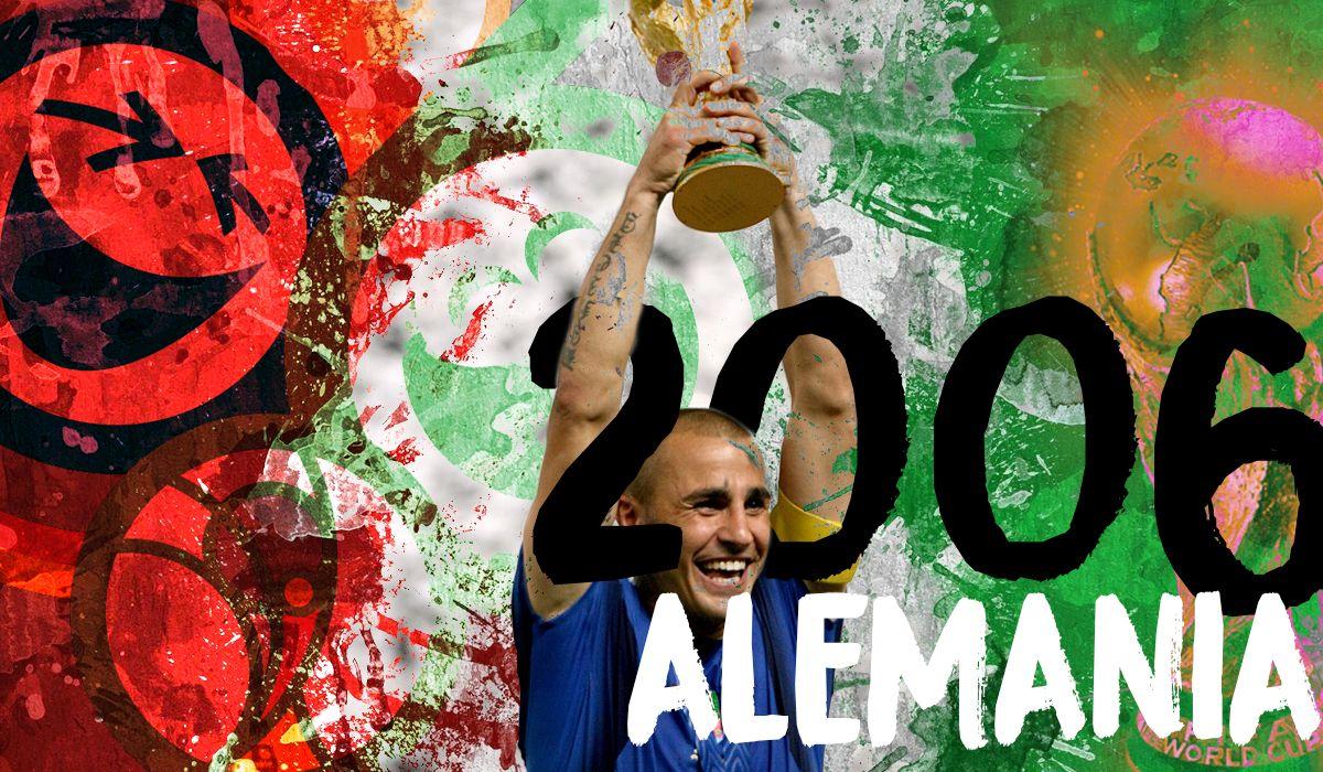 Mundial 2006: Italia demostró que no hay que llegar bien al Mundial para ser campeón