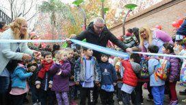 Julio Zamora inauguró un espacio de juegos este martes en Tigre