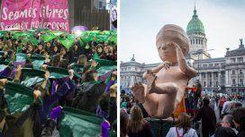 Durante todo el debate previo hubo marchas masivas a favor y en contra de la iniciativa