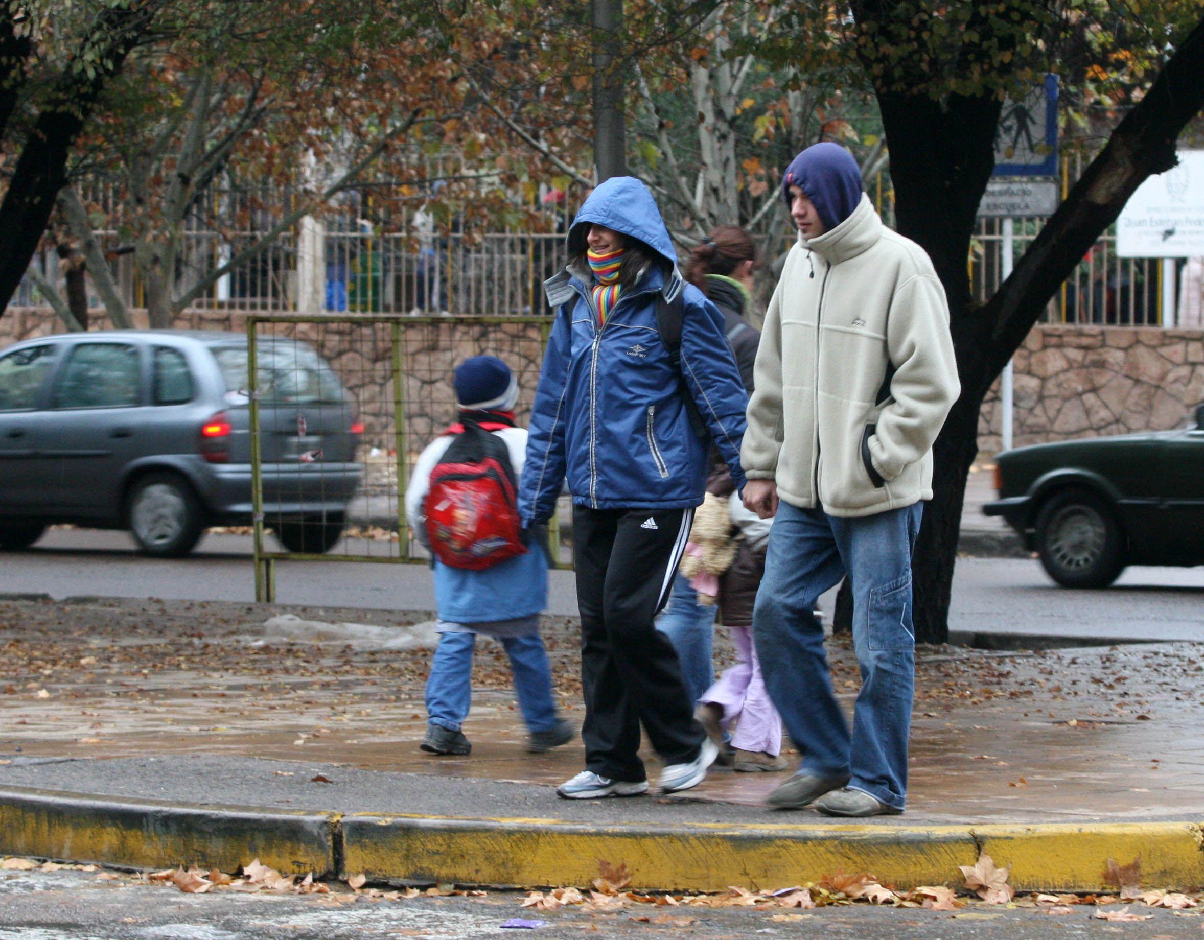 El frío se quedará hasta al menos el sábado en toda la Argentina