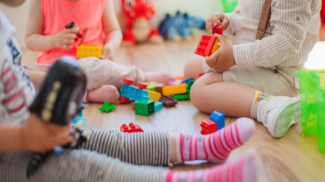 Uno de cada tres nenes que van al jardín de infantes lo hace en uno privado