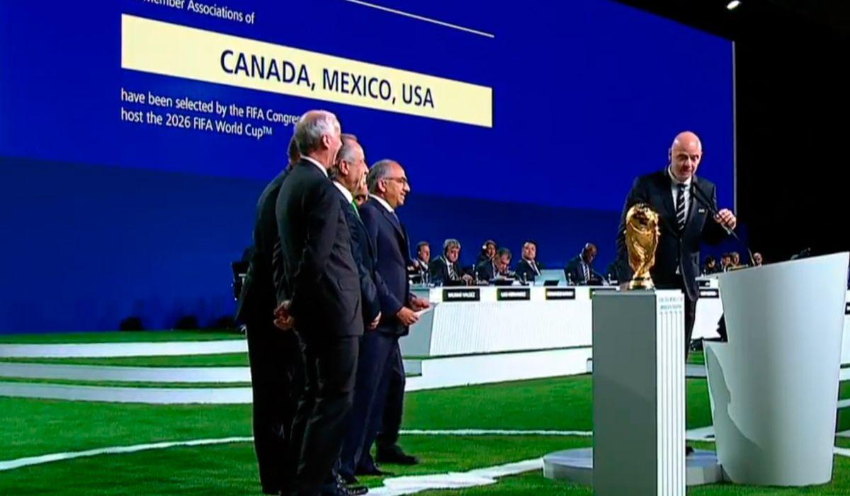 El Mundial 2026 con 48 países se jugará en Canadá, México y Estados Unidos