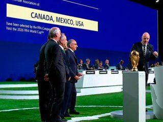 el mundial 2026 con 48 paises se jugara en canada, mexico y estados unidos
