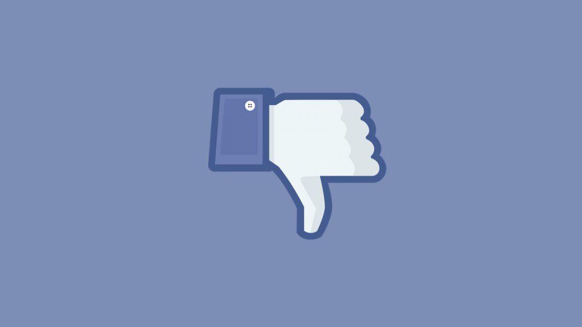 Facebook e Instagram caídos