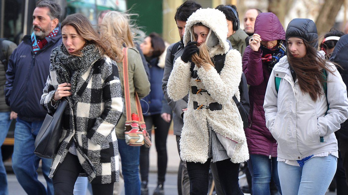 ¿Hasta cuándo seguirá el frío en la Ciudad y el conurbano bonaerense?
