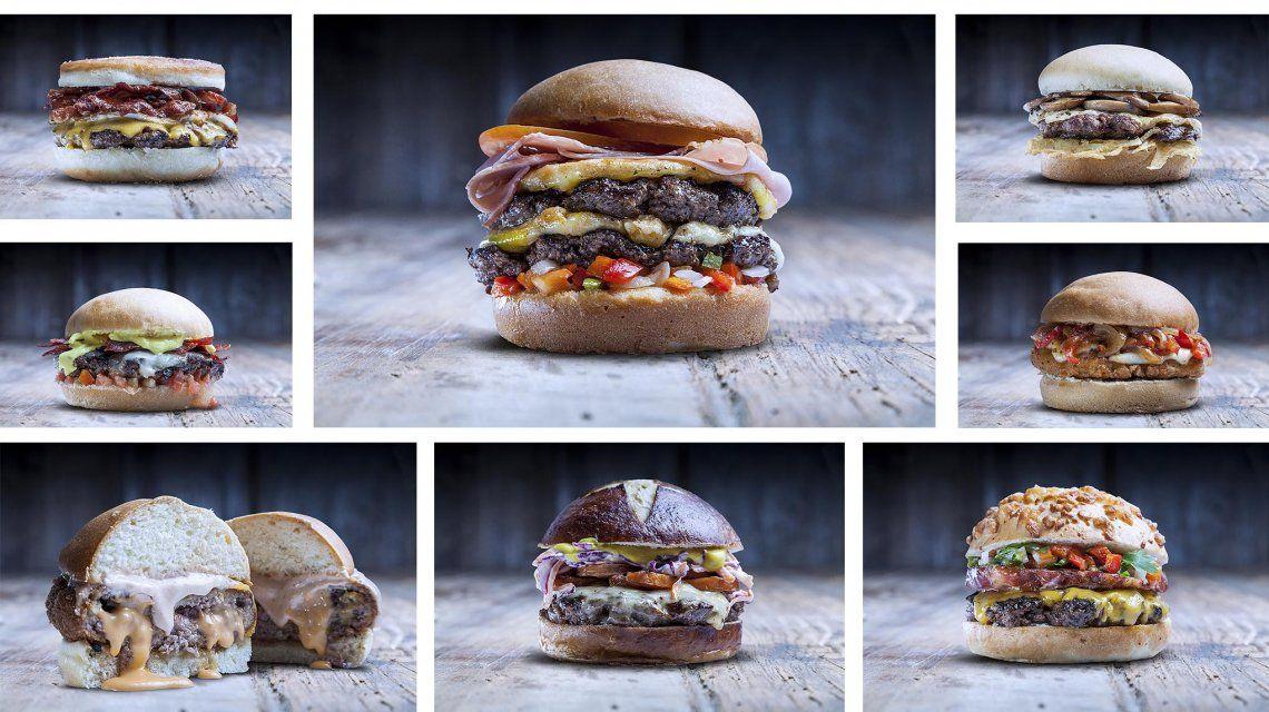 El otro Mundial: las 11 hamburguesas que representan a los países