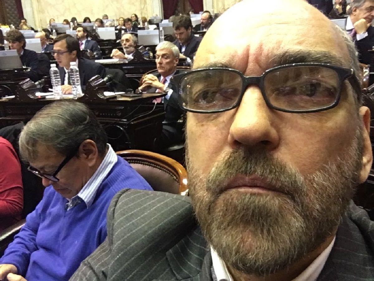 Fernando Iglesias en la Cámara de Diputados