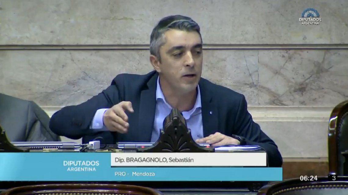 La mujer no tiene derecho al aborto: la defensa de las dos vidas del diputado Bragagnolo